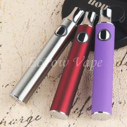 510 Preheat Battery 650mah 350mah Vape Batteries Ecig Vaporizer Pen Voltage Adjustable Fit All 510 Atomizers CE3 G2 A3 A4 A5