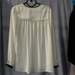 Latest chiffon tops for women 2017, fashion summmer lady top wholesale