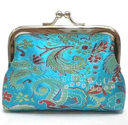 8.5cm*6.5cm jewelry wallet,Chinese traditional gift box mixed color, silk box sold per bag of 10 pcs