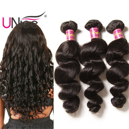 UNice Hair Wholesale 8A Indian Remy Loose Wave 100% Human Hair Extensions Unprocessed 5 Bundles Human Hair Weaves Cheap Nice Curl
