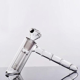 100% Real Image Glass Bongs Water Pipes hammer 6 Arm perc recglass percolator bubbler Oil Rigs Glass Bongs pipes pipe recycler Glass