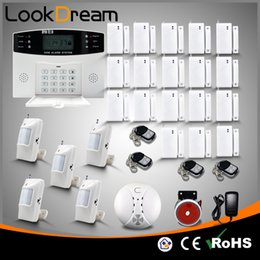 Update Wireless Electronic Home Alarm System Residential GSM Burglar Alert Security 100zone SMS Autodialer By DHL
