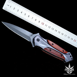 Butterfly knives DA27 folding blade assisted side open knife 57HRC 440c outdoor hunting camping tactical pocket knives