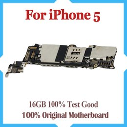 16GB Original unlocked for iPhone 5 motherboard,100% test for iPhone 5G Mainboard with chips, Free shipping