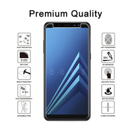 For Samsung S9 Plus A8 Plus 2018 Screen Protector,Tempered Glass Screen Protector with retailer package