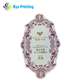 Custom retangle paper material adhesive label sticker with your logo