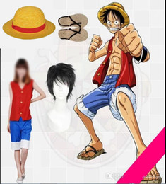 One piece Monkey D Luffy Cosplay Costume Set