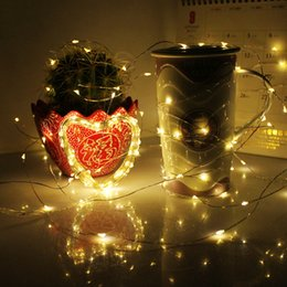 New Battery Box Copper Light Strings Outdoor LED Waterproof Christmas Lights 8 Modes Copper Lights 5 Meters 50LED