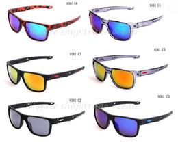 10pairs lot New Style Brand Sport Crossrange Sunglass Popular Sunglass For Men Sunglasses Outdoor Sport sunglasses 8colors Google Glasses.
