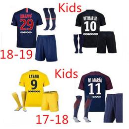Thailand Maillot de foot MBAPPE NEYMARs JR soccer jerseys 2018 Kids jersey 17 18 football shirt KIT paris saint germain survetement psg