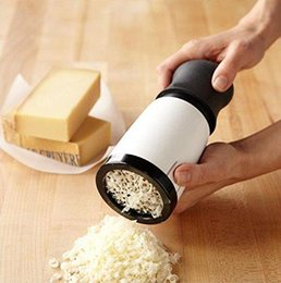 Rotary cheese mill backing tools cheese slicer kitchen gadget stainless steel cheese grater kitchen queijo tools