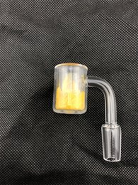 2018 new thermochromic quartz banger High quality large male 10mm 14mm 18mm banger for oil rigs glass bongs