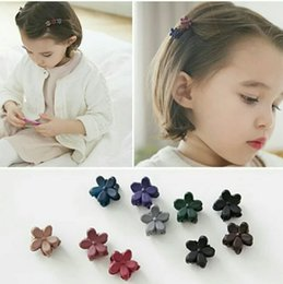 European and American new lovely children's hair frosting mini small flower hairpin grab clip Han version of jewelry