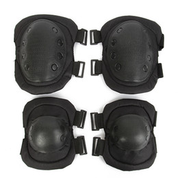 Military Tactical Protection Knee Pad Elbow Support Air Gun Paintball Knee Hunting Skating Motorbike Kneepad Sports Safety Outdoor Products