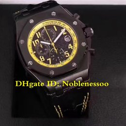 16 Color Luxury Chrono Watch Mens Royal Bumble Bee black 26176FO.OO.D101CR.02 Leather strap VK Quartz Chronograph Workin Sport Men's Watches