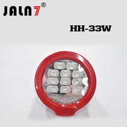 1PCS 33W LED Work Light 3630LM Car 12V Truck Fog Light High Beam Low Beam JALN7