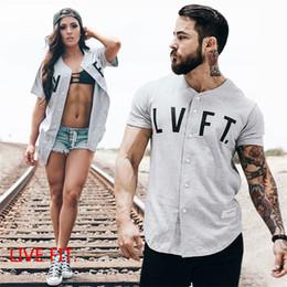 Sports Fitness Men's Cardigan V-Neck Short-Sleeve T-Shirt Summer Cotton Running Short Sleeve Shirt