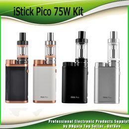 Authentic iStick Pico starter Kit Firmware Upgradeable With 75W iStick Pico TC Box Mod 2ml 4ml Mleo III 3 Mini Tank atomizer 100% Genuine