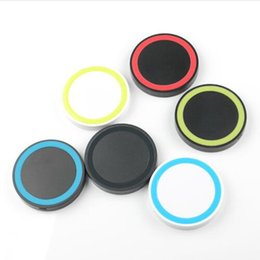 S6 Qi Q5 Wireless Charger Cell phone Mini Charge Pad For Qi-abled device Samsung Galaxy S3 S4 S5 S6 Note2 3 4 Nokia HTC LG Iphone phone MQ50