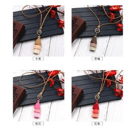 Bohemian vintage rose multi fringed necklace for women long autumn winter Pred Perry sweater chain