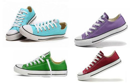 size35-46 Unisex Low-Top & High-Top Adult Women's Men's Big kids boys girls Canvas Shoes 15 colors sports Laced Up Casual Sneaker shoes
