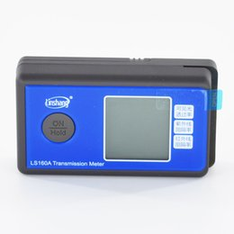 Window tint meter LS160A Handheld Window Tint Transmission Meter self calibrate with IR UV blocking rate transmittance