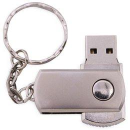 Free Laser Logo 100PCS 128MB 256MB 512MB 1GB 2GB 4GB 8GB 16GB Swivel USB Flash Drive Metal Memory Pendrive Stick + Keychain Genuine Storage