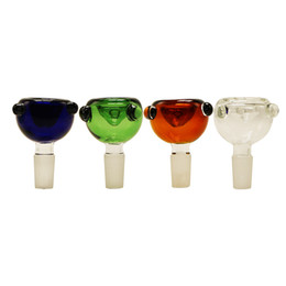 Factory price Colorful Male Glass Bong Bowls 14mm 18mm glass bowls for glass water bongs smoking pipes
