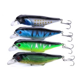 HENGJIA newly bigger Minnow lures 20pcs New Arrival Sea Fairy Fishing lure 9.5CM 12.8G 4# hooks 4 colors 2 hook