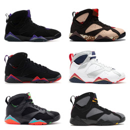 7s Classic 7 men women basketball shoes pure money hare Bunny raptor french blue Bordeaux Hot Lava Verde black red white blue sneakers