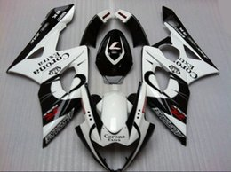 Injection Fairing body kit for SUZUKI GSXR1000 05 06 GSX-R1000 Bodywork GSX R1000 K5 2005 2006 White black Fairings set
