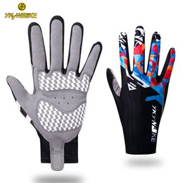 YKYWBIKE Guantes Ciclismo MTB Bike Gloves Full Finger Warm Winter Cycling Gloves Anti-slip Bicycle Glove Accessories Men Women