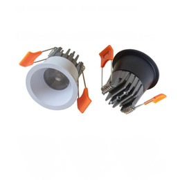 High Quality 5W COB Dimmable Mini LED Downlight mini LED Spot light LED Ceiling Lamp white body  black body