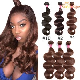 Mink Brazilian Body Wave Virgin Hair Wefts 1b #2 #4 Virgin Brazilian Body Wave Hair Bundles Human Hair Extensions No Shedding