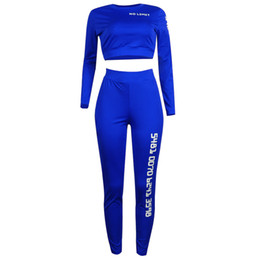 Women black Sexy prints sportswear Two pieces suit lacing Tight Tracksuits