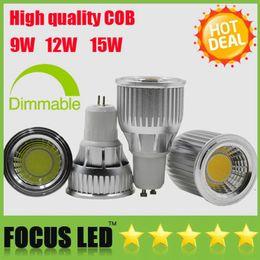 High Bright Led Lamp 9W 12W 15W Dimmable Led Spot Light GU10 MR16 E27 E14 GU5.3 B22 bulbs Spotlight Downlight Bombilla Window Closet Lights