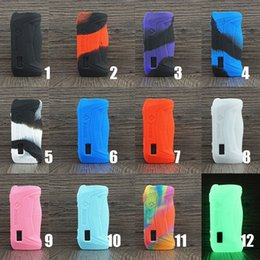 Silicone Case for GeekVape aegis Solo 100W Box MOD vape cover rubber Skin Warp Sticker Sleeve shell hull damper vape