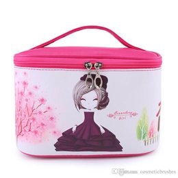 Mybasy Ms. Han's large capacity beautiful girl's portable toiletries bag, Travel, home essential professional cosmetics package