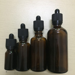 vape juice liquid Reagent Pipette bottles empty Dropper Aromatherapy perfumes glass bottle 5ml 10ml 15ml 20ml 30ml 50m 100ml ems