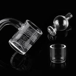 100% Real Quartz Banger with carb cap quartz dish 14mm 18mm Domeless Nail Female Male 90 Degrees quartz danger for dab rig bong