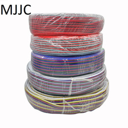 2pin 3pin 4pin 5pin 6pin 22AWG Led Connect LED RGB wire Cable For WS2812 WS2811 RGB RGBW RGB CCT 5050 3528 LED Strip