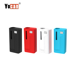 Yocan Rega Battery Mod Vaporizer Built-in 320 Mod Variable Voltage With Magnetic Adapter Preheating Vaporizer Fit 510 Thick Oil Cartridge