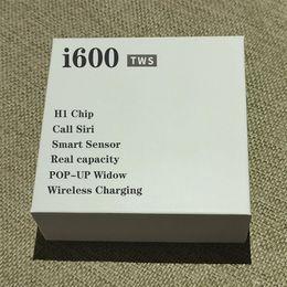 HOT i600 TWS Bluetooth 5.0 Wireless Headphones Support Pop Up Window Bass Earphones Touch Control Wireless H1 Chip Headset Earbuds