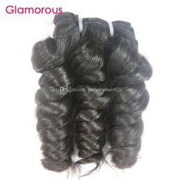 Glamorous Peruvian Hair Bundles 4Pcs Romance Curly Raw Unprocessed Human Hair Weft Top Quality Brazilian Indian Malaysian Hair Extensions