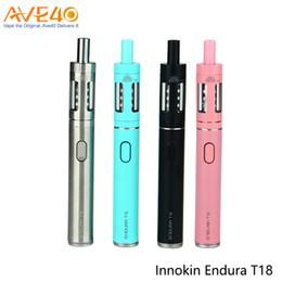 Innokin Endura T18 Starter Kit 2.5ml Top Fill Tank and 1000mAh Battery Pen Style eGo E Vapor Kit 100% Original