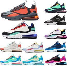 New react men women running shoes bauhaus hyper jade orange grey optical black white for mens trainer breathable sports sneakers size 36-45