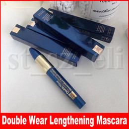 Famous Eye Makeup Double Wear Zero-smudge Lengthening Mascara Tenue et longueur extreme Waterproof Natural Eyes Make Up Cosmetic 9ml