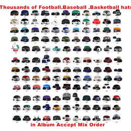 Wholesale New sports Hat Team Baseball Snapbacks Caps Basketball Snapback Football Casual Hats More 5000+Styles