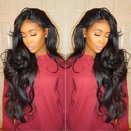 Brazilian Virgin Full Lace Human Hair Wigs Body Wave Glueless Full Lace Wigs Human Hair Lace Front Wig For Black Women