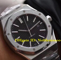 3 Color Cal.3120 Movement Luxury Men 41mm Black Dial Sapphire glass 15400 Full Steel Dive Automatic Mens Watch Men's Watches